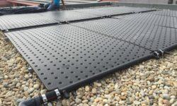 Aplicação de painéis térmicos compósitos