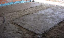 Aplicação de Piso Radiante Eléctrico em chão